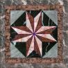 Granite Base Flower Patterns Marble Waterjet Medallion Floor Tile Marble Medallion Pattern for sale