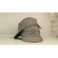 Wholesale Quick Dry Soft Grey Sports Dad Hats Plastic Buckle from china suppliers