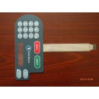 Waterproof PC Embossed Tactile Membrane Switch Panel For Air Conditioner