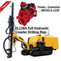 Wholesale 18m 112Kw Diesel Engine Rock Drilling Machine , DTH drilling Rig from china suppliers