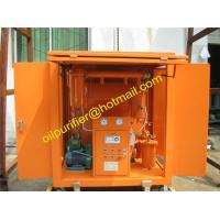 transformer oil purifier with car wheels,Movable Insulation Oil Filtration Machine,enclosed insulating oil filter unit for sale