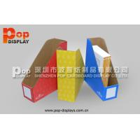 China Colorful Cardboard Magazine Display Boxes With CMYK Offset Printing For Journals on sale