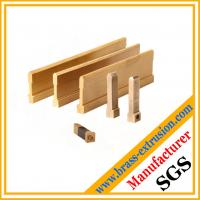 Wholesale chinese factory of brass metal extrusion profile from china suppliers