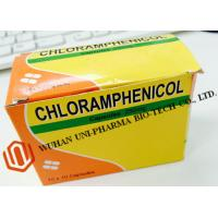 Wholesale Chloramphenicol Capsules 250mg Finished Medicine , Organic Gelatin Capsules For Bacterial Infections from china suppliers