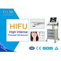 China Portable HIFU Ultrasound Machine , High Intensity Focused Ultrasound Machine Jowl Lifting for sale