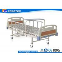 Wholesale Durable frame Steel board Two Crank Manual Bariatric Hospital Beds With Foldable Table from china suppliers