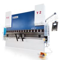 Wholesale 4+1 axis servo controlled CNC hydraulic press brake WE67K-300T/3200 for sale from china suppliers