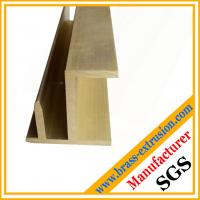 Wholesale toy train rail brass extrusion profile from china suppliers