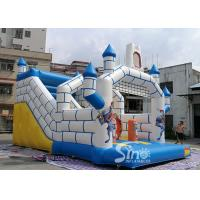 Quality Outdoor Inflatable Jumping Castle N Bounce House With Slide For Sale From China for sale