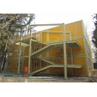 China Cost Effective And Galvanized Three Storeys Demountable Container Building For Beijing Children Hospital for sale