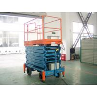 Quality Vertical Electric Telescopic Hydraulic Scissor Lifts for Theatre , Hospital , Library for sale