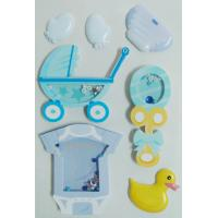 Wholesale Rubber Duck Design Personalised Toy Box Stickers , Japan Scrapbook Stickers from china suppliers
