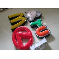Wholesale Illuminated Channel Letters Metal Returns With Formed Face / Outdoor Signage from china suppliers