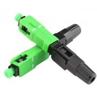 Wholesale Ftth Sc / Apc Fiber Optic Accessories Quick Connector Single Mode Fiber Adapter from china suppliers