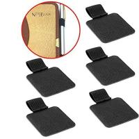 China 5 Pack Set Fancy Stationery Items Pen Loop PU Leather Cover Various Colors Available for sale