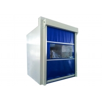 Buy cheap Fast Shutter Door Air Shower Tunnel/ Cargo Air Shower Cutsomized Size And Color from wholesalers