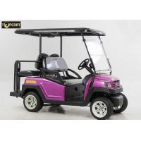 China Energy Saving 4 Seater Battery Powered Car Golf Cart With Brake System on sale