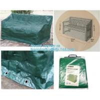 Wholesale Green Waterproof pe plastic outdoor garden furniture covers,lounge bench covers,funiture series,garden bench cover, bag from china suppliers