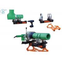 Wholesale Plastic Pipe Tube Socket Fusion Welder Machine In 1400W Suit For 20 - 25mm from china suppliers