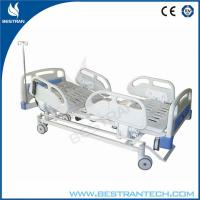 Wholesale Motorized ICU Electric Hospital Beds With 4 - Part Steel And ABS Handrails from china suppliers