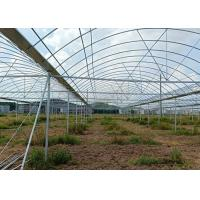 Wholesale Greenhouse Round ERW Steel Pipe , Hot Dip Galvanized Steel Pipe Good Reliability from china suppliers