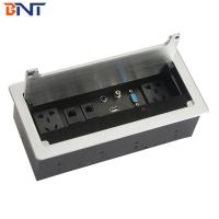 Wholesale rj45 female connector desktop brush flip up socket from china suppliers