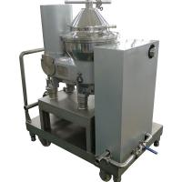 Quality Industrial Used Milk And Cream Separator / Milk Skimming Disc Centrifuge for sale