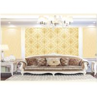 Wholesale Contemporary Damask Deep Embossed Wallpaper Waterproof For Interior Room from china suppliers