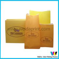 Matte Lamination Small Kraft Paper Gift Bags , Paper Merchandise Bags for sale