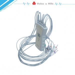 China Portable 12 Channel Resting Home / Hospital ECG Machine USB Data Transmission on sale