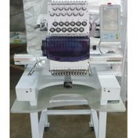 China Highly Speed Computer Embroidery Machine , Cap And T Shirt Embroidery Machine on sale