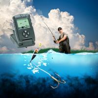 Buy cheap 7 Inch True Color LCD GPS Fish Finders Fishing Depth Finder Custom Made from wholesalers