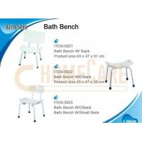 Quality Bath Bench W/Small Back for sale