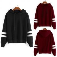 China OEM Plus Size Streetwear Hoodie Long Sleeve Cotton plain sweatshirts Casual Pullovers for sale