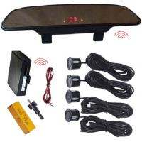 Wholesale Wireless Super Slim Rearview Mirror LED Display Vision Parking Sensors With 4 Sensors from china suppliers