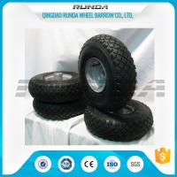 Wholesale Small Size Pneumatic Rubber Wheels , Pneumatic Swivel Caster Wheels136KG In 2PR from china suppliers