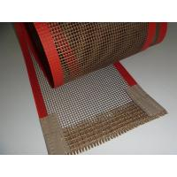 Wholesale Favorites Compare PTFE Teflon Coated Fiberglass Mesh Conveyor Belt For Baking from china suppliers