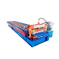 China Hydraulic Roof Panel Roll Forming Machine , Ibr Color Steel Cold Roll Forming Equipment on sale