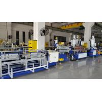 China High Speed Double Colors PC LED Tube Light Housing Extrusion Machine  4-6m / Min , Online Punching for sale