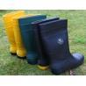 Buy cheap Gumboots,PVC material,steel toecap,steel plate,Size UK 4-13,CE EN345 S5,EN345 S4 from wholesalers