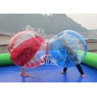 Wholesale Outdoor adult N kids inflatable bumper ball football bumper ball for commercial use with high quality from china suppliers