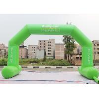 Wholesale Green Custom Inflatable Arch Stitch Fasten Tape UV / Digital Printing from china suppliers