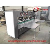 China Manual Type Thin Blade Slitter Scorer Machine For Corrugated Board for sale