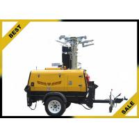Wholesale 3420L 2800W Led Light Tower Ip23 Protection Grade Watercooled Diesel Engine from china suppliers