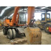 China Used Wheel Excavator Hitachi EX100WD on sale