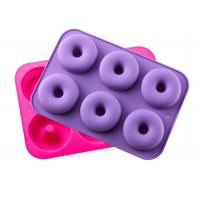 China Silicone Donut Baking Pan, Non-Stick Donut Mold, Dishwasher, Oven, Microwave, Freezer Safe,BPA_free on sale