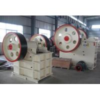 China 250Kw Jaw Crusher Machine , JC Series Highly Abrasive Stone Crusher Machine on sale