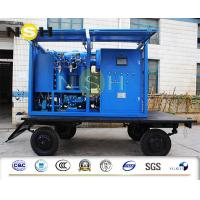 Wholesale Mobile Type Transformer Oil Purifier High Vacuum Dehydration Insulating Oil Purifier 9000LPH from china suppliers