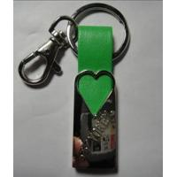 Wholesale wholesale custom metal leather key chains rings from china suppliers