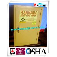 Best 12 Gallon Flammable Liquid Storage Containers Lockable For Biological Laboratory wholesale
